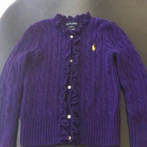 Adorable Ralph Lauren toddler sweater
